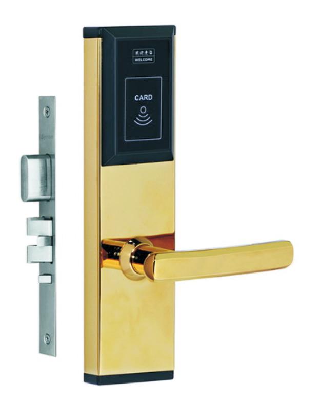 LK-205-SY11PVD  酒店智能电子门锁
