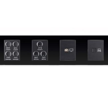 sjzz-H8系列-119  四键+三键+电视插+电脑插