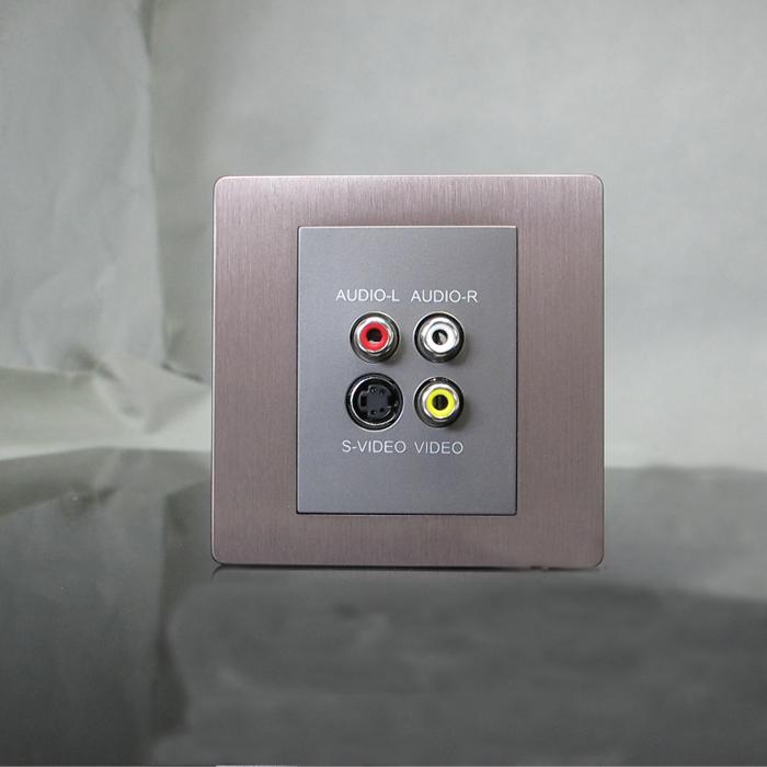 sjzz-K6系列-110   AV音视频-S端子插座