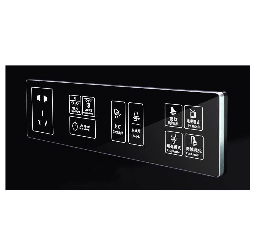Key-SH-CM8002-4  触摸开关