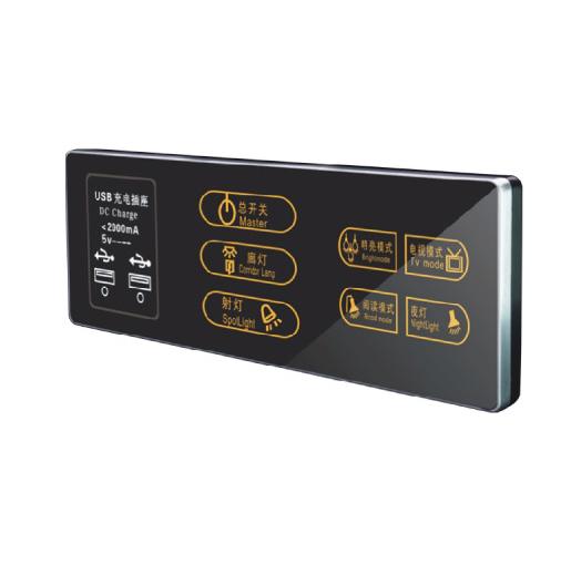Key-LN-TS8690-3E 触摸开关