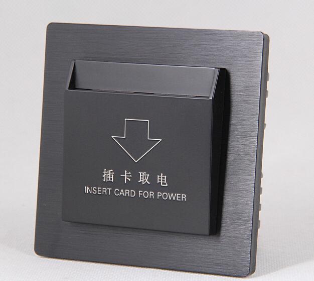 sjzz-203 酒店智能插卡取电开关