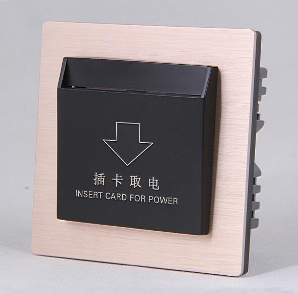 sjzz-207  酒店智能插卡取电开关
