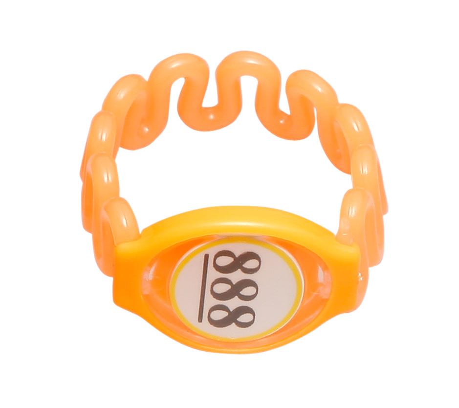 EM卡橙色  塑胶 桑拿锁手牌