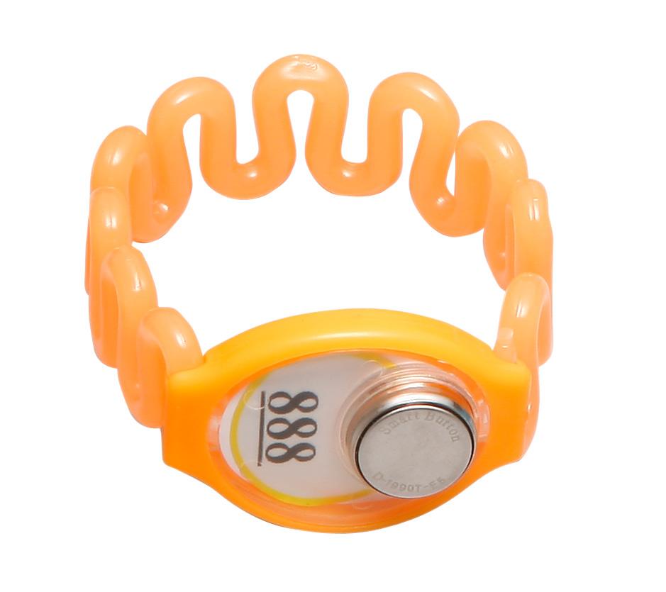 TM卡橙色 塑胶 桑拿锁手牌