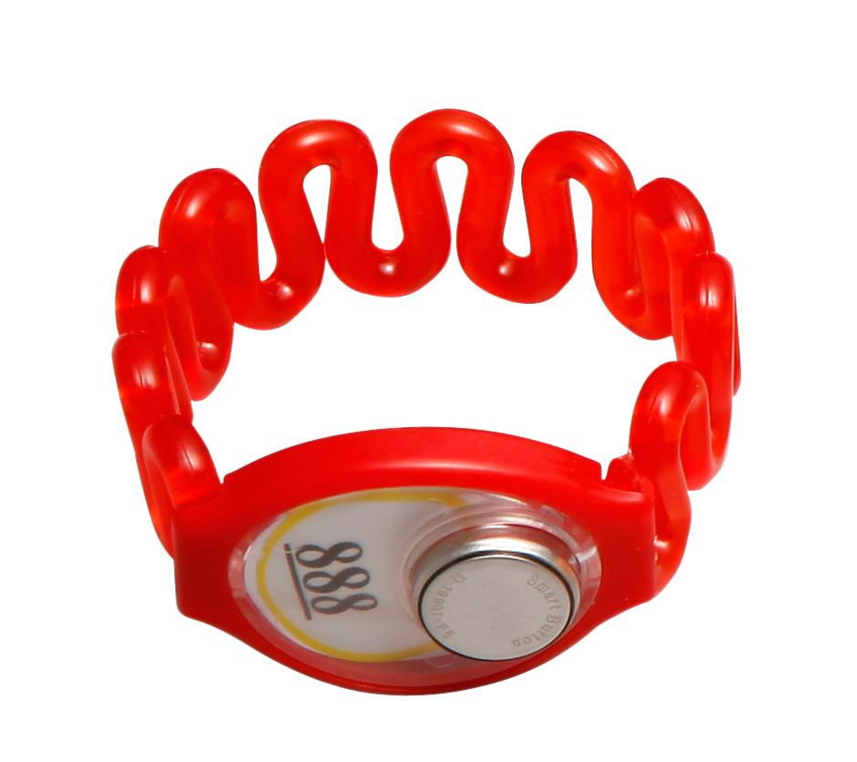 TM卡红色 塑胶 桑拿锁手牌