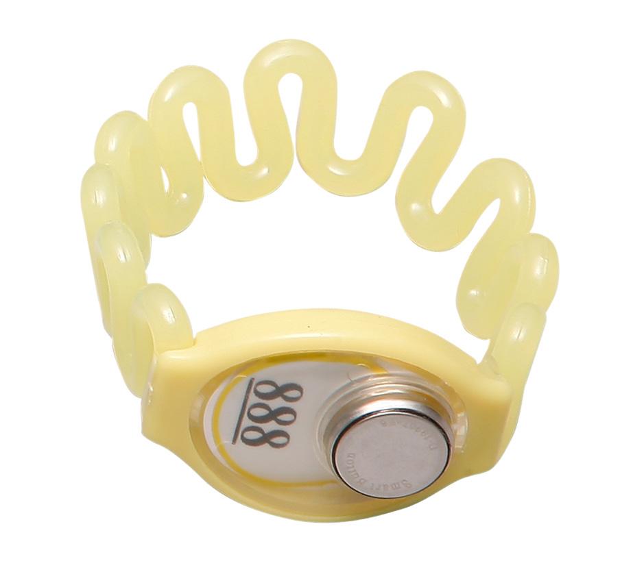 TM卡黄色 塑胶 桑拿锁手牌