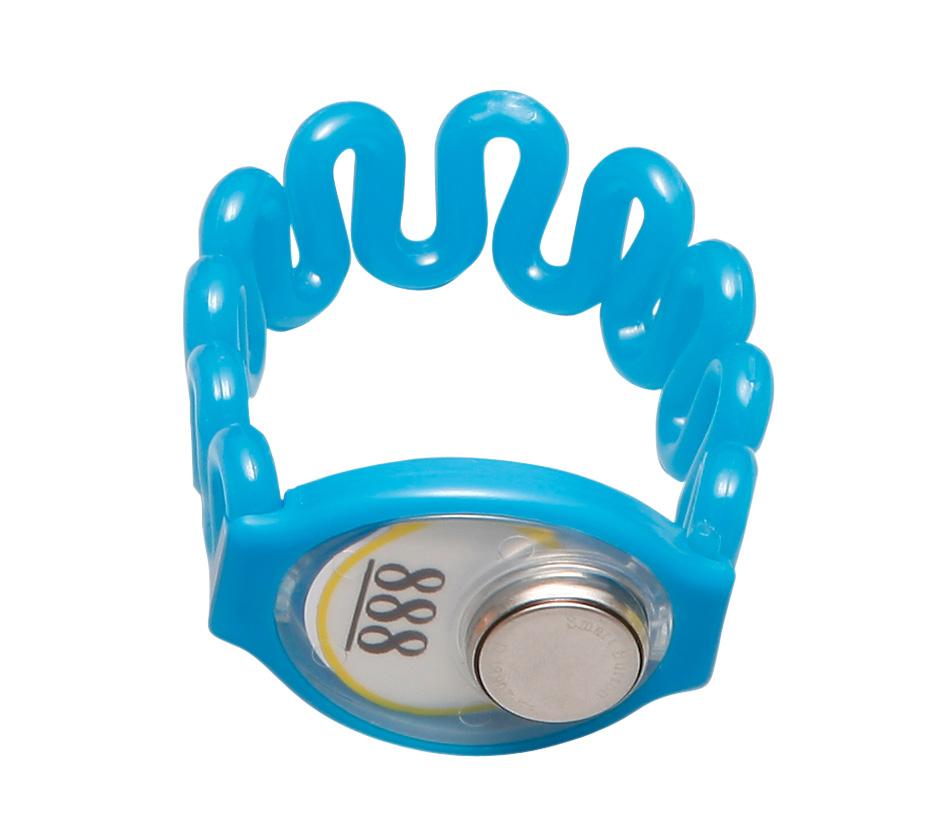 TM卡蓝色 塑胶 桑拿锁手牌