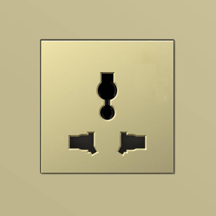 sjzz-LF-3 三孔插座