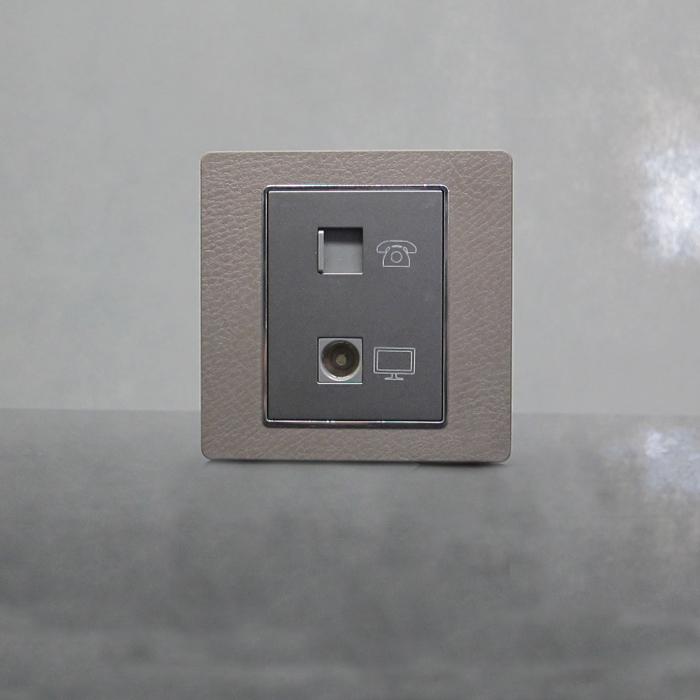 sjzz-K6系列-118   电话插+电视插