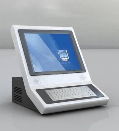 SJZZ-桌面式触摸查询机