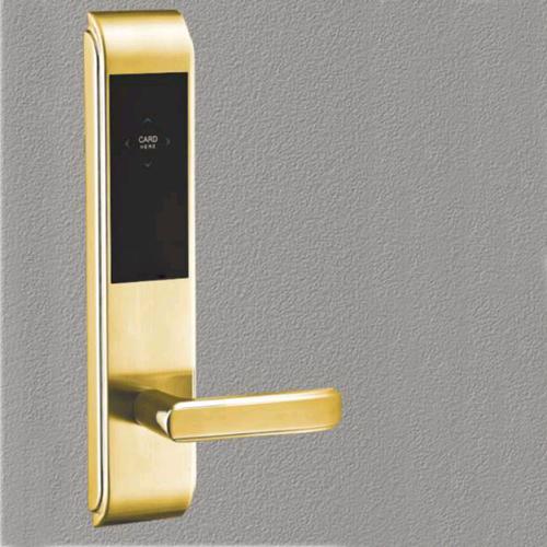 LK-316-157C138 PVD金  酒店智能电子门锁