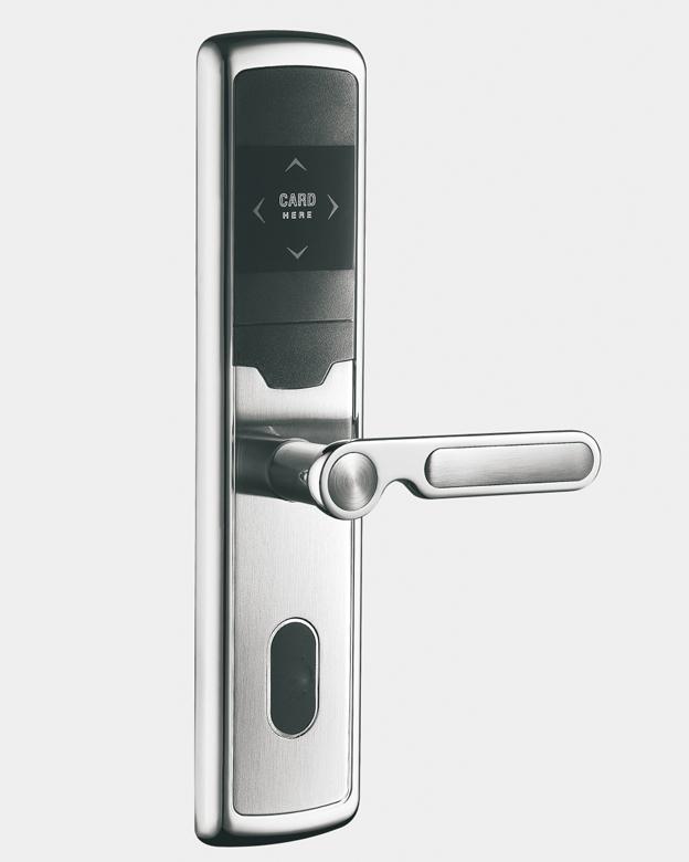 LK-305-52C51钢拉丝  酒店智能电子门锁