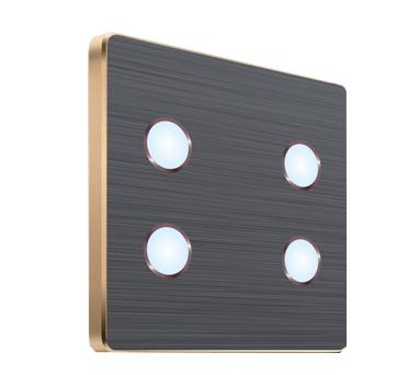Key-苹果系列-04灰色触点开关