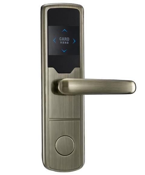 LK-521-DSR701青古铜 酒店智能电子门锁