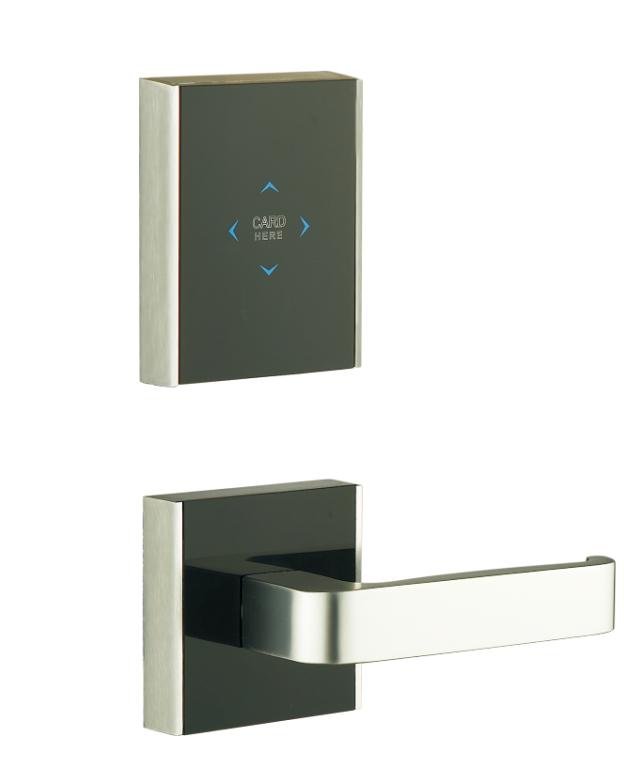 LK-312-117C99-A枪间银 酒店智能电子门锁