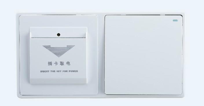 sjzz-201两联轻触开关(象牙白)